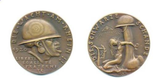 Goetz Black Shame medal
