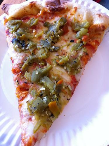 Green Chile Pizza