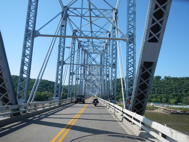 Crossing the Madison Bridge