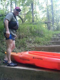 Broad River Paddling May 26, 2012 6-52 PM