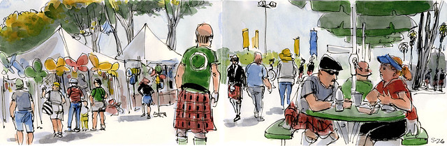 Scottish  Festival 2012 #1