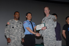 All Hands Ceremony - U.S. Army Garrison Humphreys, South Korea - 25 May 2012