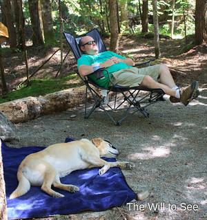 camping nap