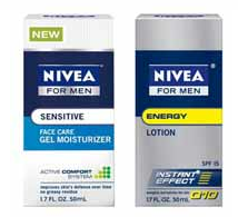 Nivea For Men Face Care Moisturizer (.3 Oz. 2.5 Oz.) Coupon