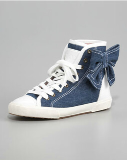 RED Valentino Bow Sneaker NM Retail $295 on sale for $197