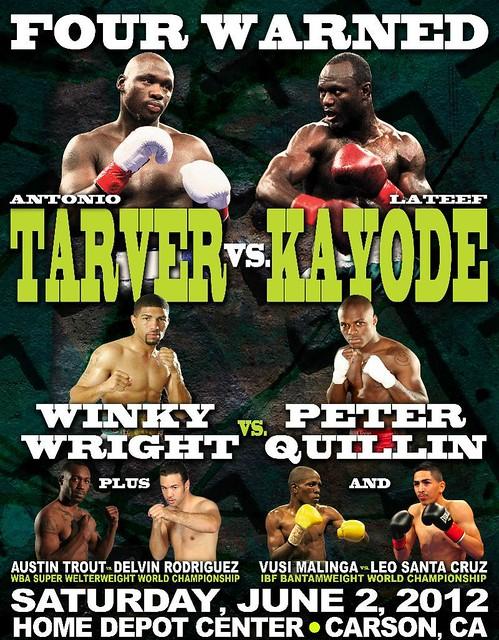 tarver_vs_kayode_poster