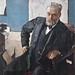 [ S ] Valentin Serov - Portrait of Alfred Nobel (1909)