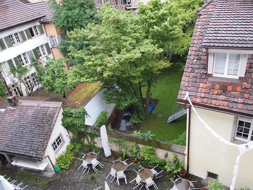 Innenhof Winterthur beim Gewerbemuseum