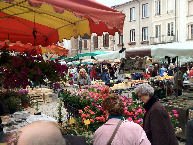 The Market in Villeneuve sur Lot