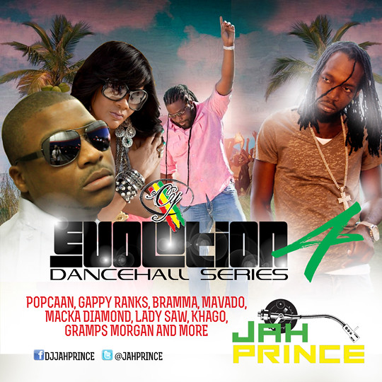CY Evolution Dancehall Series Promo Mix CD