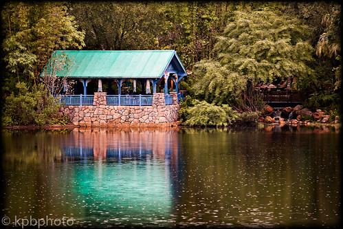 water landscape shelter
