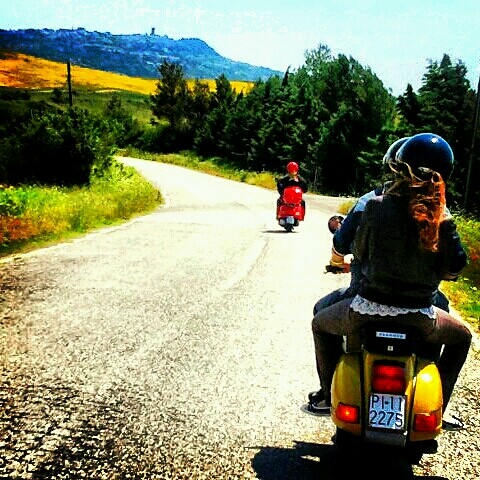 tour in Vespa in Valdera