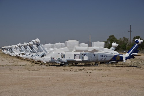 Sikorsky SH-60 Seahawks, Mothballed, AMARG Boneyard