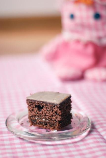 Torta de Chocolate con Dulce de Leche