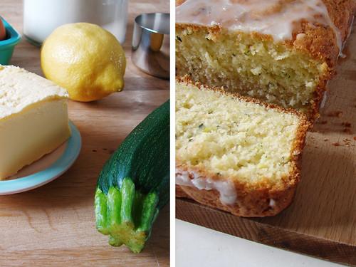 Courgette-citroencake