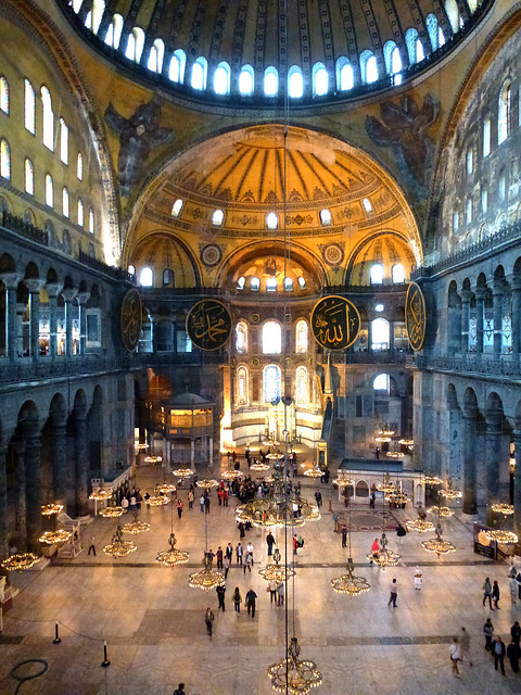 Istanbul - avril 2012 - jour 5 - 101 - Sainte-Sophie (Ayasofya Cami Müzesi)