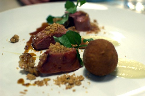Honey-glazed Duck Breast and Confit