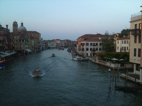 View of Grand Canal from Ponte degli Scalzi