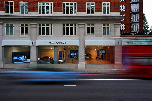 The first BMW i Store worldwide opens in London