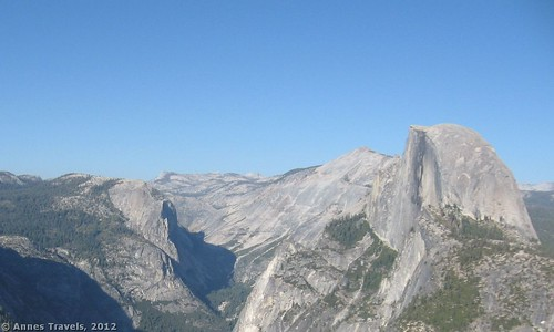Part of the view from Glacier Point, Yosemite National Park, California