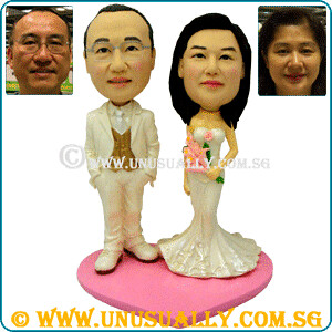 Custom Classic Wedding Couple Figurines