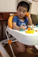 【とらちゃん】下半身丸出しで電話する (2012/6/17)