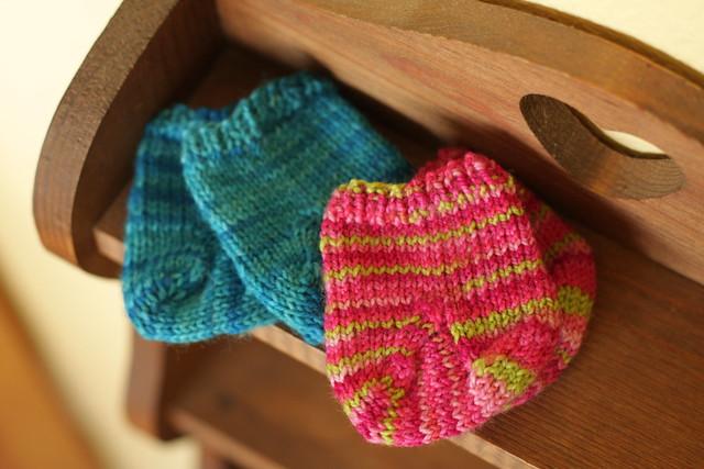waldorf doll socks