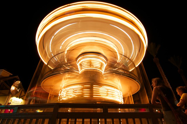 Merry go round at Kemah