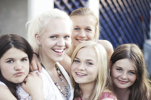 Jennie , meg, Kjersti, Solgunn og Frøydis