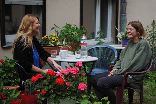 Garteninterview in Prenzlberg
