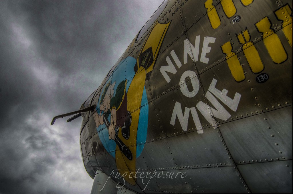 "Collings Foundation B-17G "" Nine-0-Nine"" Heavy Bomber"