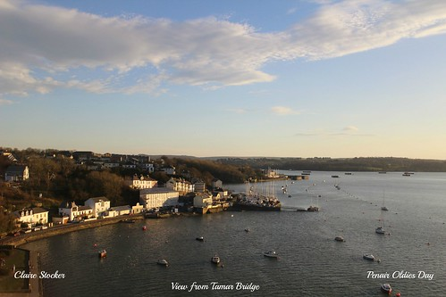 View from Tamar Bridge by www.stockerimages.blogspot.co.uk