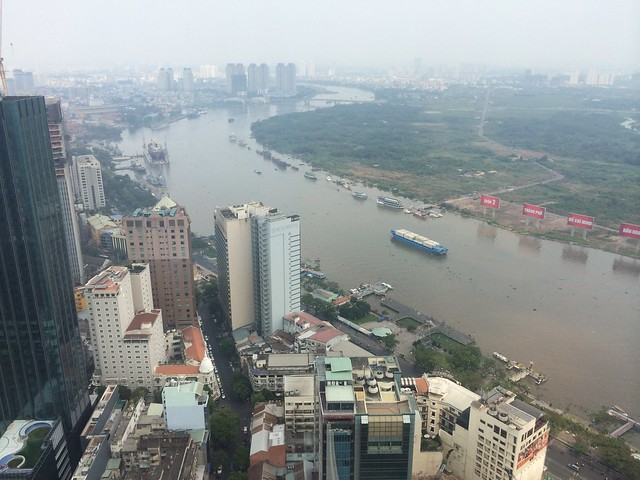 View from the Saigon Skydeck