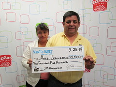 Angel Leguizamon from Clearfield, UT - $2,500 25th Anniversary