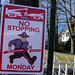 2014 Boston Marathon - Great No Stopping Sign by CC Chapman