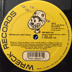 WIZDOM LIFE & MATT FINGAZ:FRUITS OF LABOE IN THE SUNSHINE(LABEL SIDE-B)