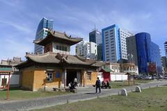 Entrée du temple-musée du Choijin-Lama