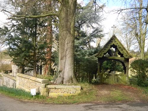 Ashe churchyard