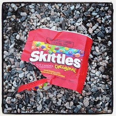 Skittles at the #trayvon protest in #baltimore