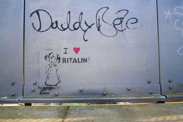I love ritalin by Louva Daddy bee