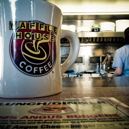 Waffle House Coffee, Huntsville Alabama