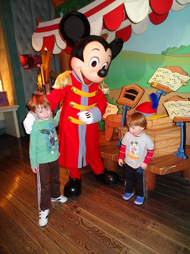 Henry, Mickey Mouse and Archie