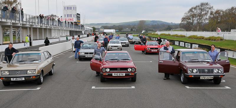 Lancia Motor Club Lancia Beta Track Parade 2012