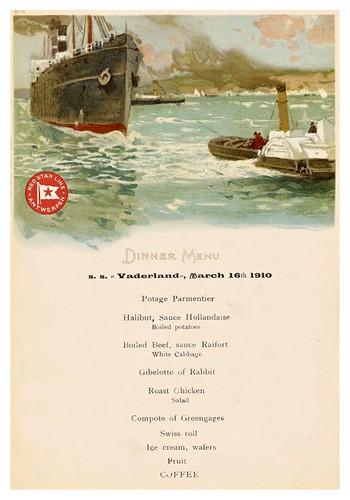 024-Menu de la cena en el S.S. Vaderland el 16 de Marzo de 1910-NYPL
