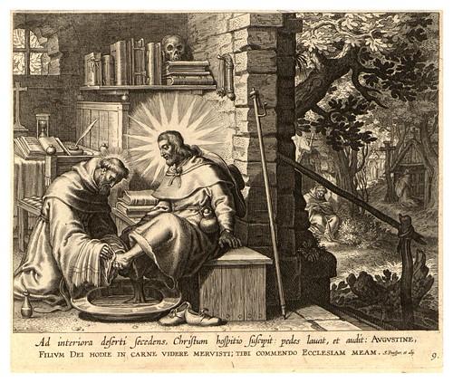 007-Iconographia magni patris Aurelli Augustini…1624-Grabados de Boetius Bolswert- Cortesia de Villanova University