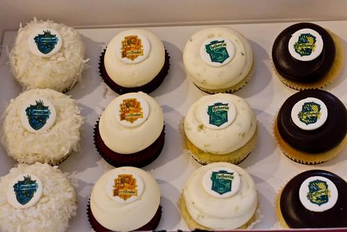 Hogwarts Cupcakes
