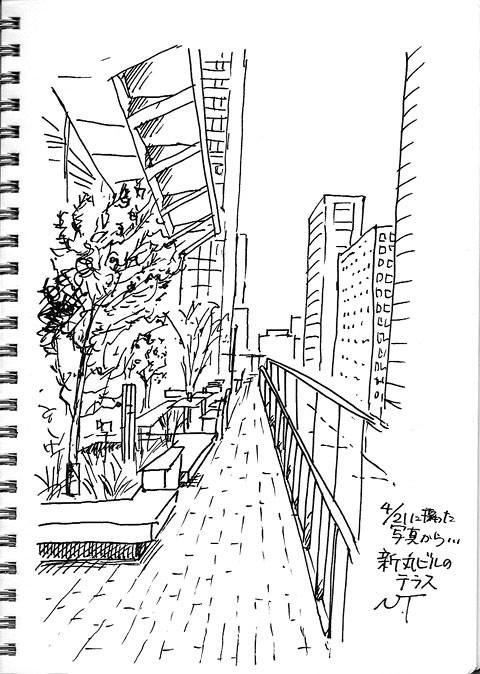 新丸ビルテラス Shin Marunouchi Building