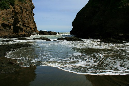 Te Henga in April