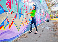 Graffiti Wall Perspective - Ottawa  04 12