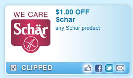Schar Product  Coupon